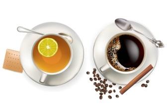 Čaj a káva. Co je spojuje? Oba nápoje obsahují kofein, nejrozšířenější stimulační drogu na světě.