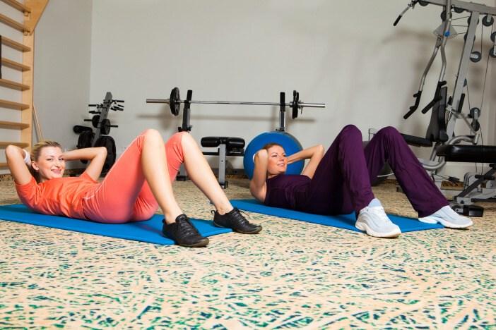 <span>Jak zhubnout břicho? Zaměřte cvičení na břišní svaly.</span>