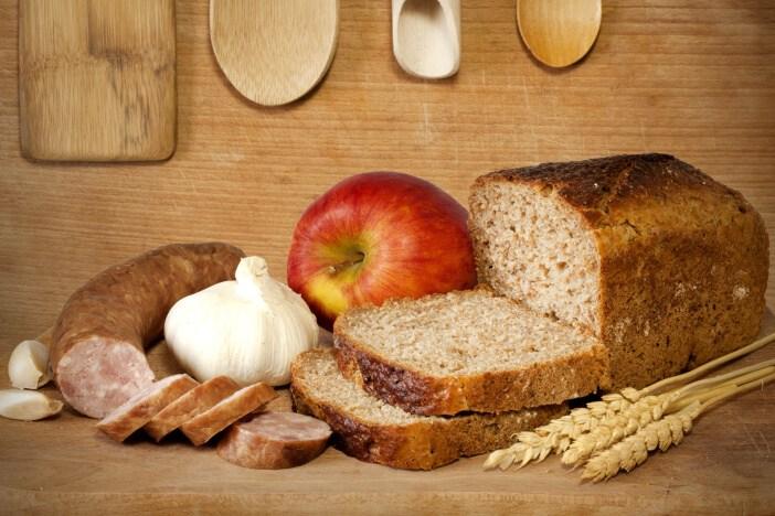 <span>Zdravý jídelníček: přírodní a čerstvé potraviny bez řpidaných chemických látek a konzervantů.</span>