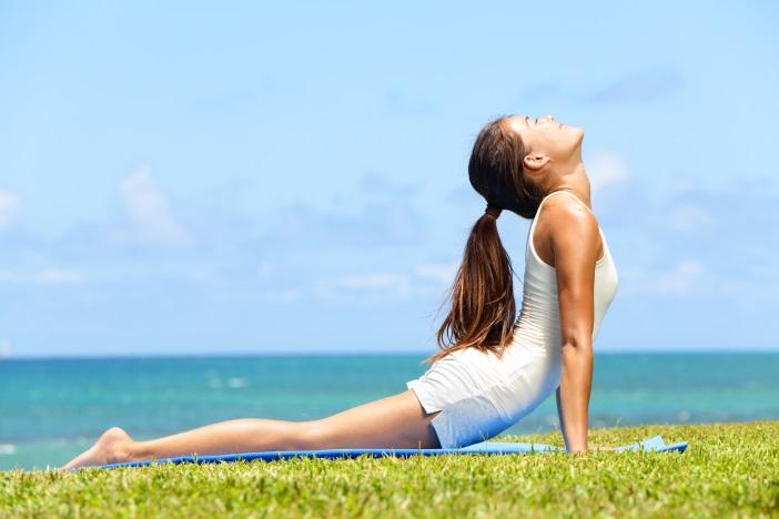 Jóga - původem indické cvičení, které pomáhá posilovat tělo i mysl. Podívejte se jak hubnout s pomocí jógy.