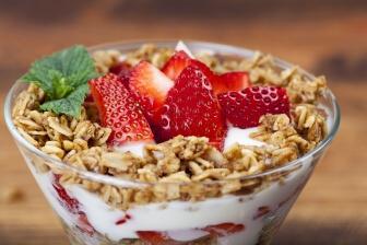 """Snídani určitě nevynechávejte ani, když máte """"hektický život""""."""